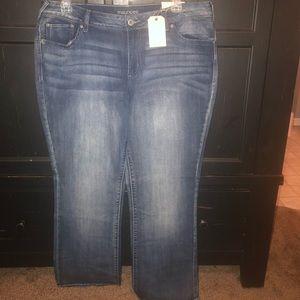 Denim - Maurices slim boot cut jeans